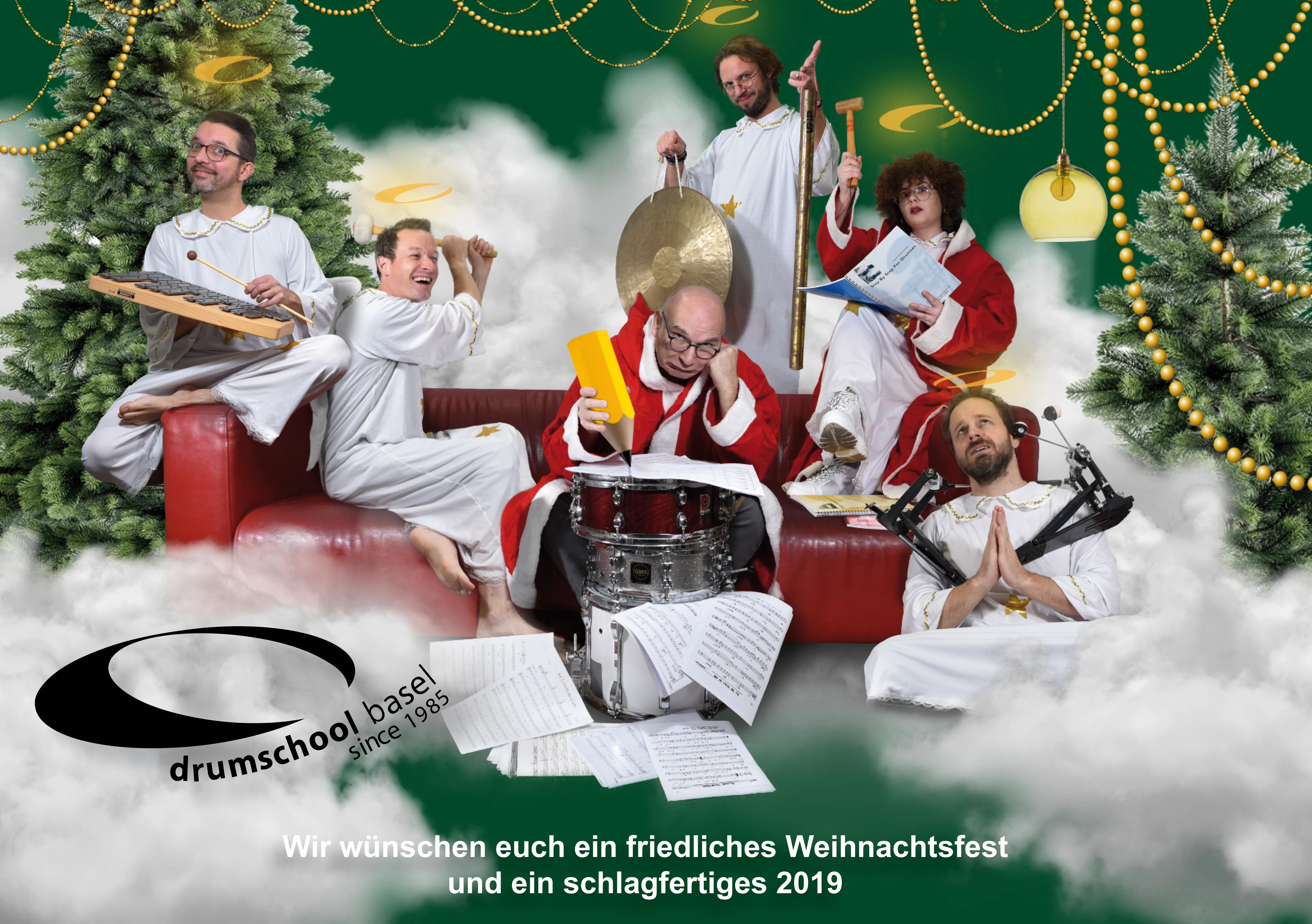 2019 Weihnachten.Weihnachten 2019 Drumschool